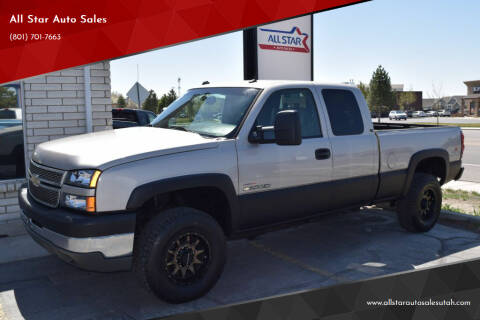 2005 Chevrolet Silverado 2500HD for sale at All Star Auto Sales in Pleasant Grove UT