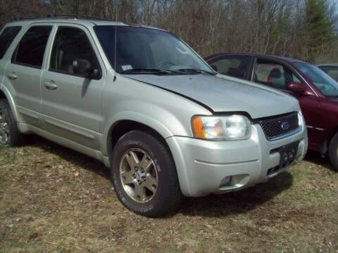 2003 Ford Escape for sale at Frank Coffey in Milford NH
