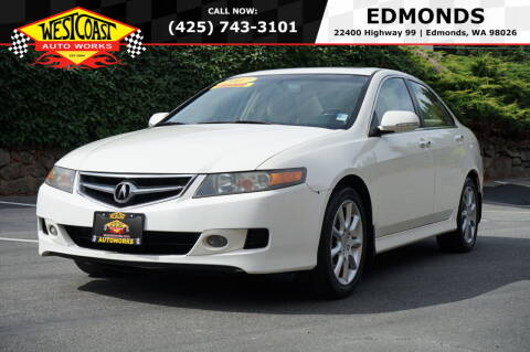 2007 Acura TSX for sale at West Coast Auto Works in Edmonds WA