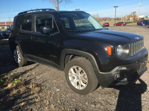 2015 Jeep Renegade for sale at Hamburg Motors in Hamburg NY