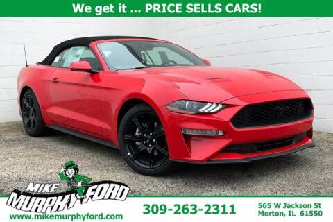 2020 Ford Mustang for sale at Mike Murphy Ford in Morton IL