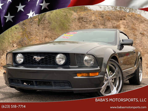 2007 Ford Mustang for sale at Baba's Motorsports, LLC in Phoenix AZ