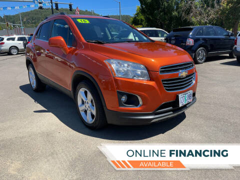 2016 Chevrolet Trax for sale at City Center Cars and Trucks in Roseburg OR