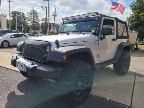 2012 Jeep Wrangler for sale at Express Auto Mall in Totowa NJ