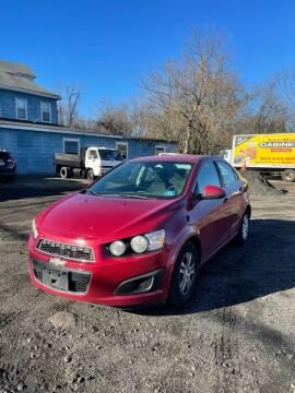 2013 Chevrolet Sonic for sale at Hamilton Auto Group Inc in Hamilton Township NJ