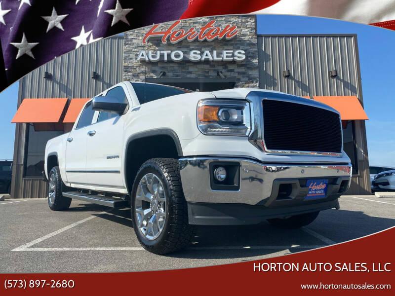 2014 GMC Sierra 1500 for sale at HORTON AUTO SALES, LLC in Linn MO