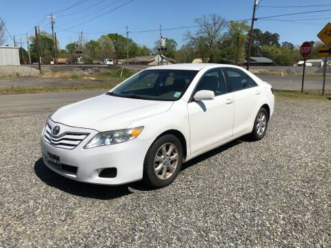 2011 Toyota Camry for sale at BLANCHARD AUTO SALES in Shreveport LA