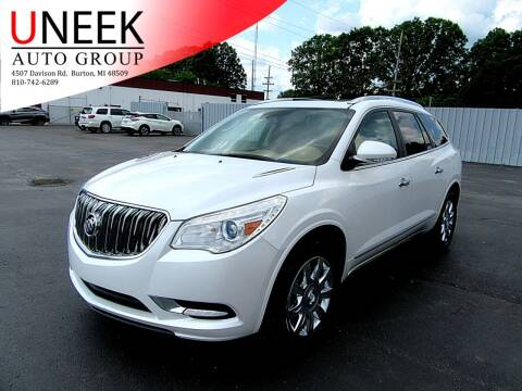 2016 Buick Enclave for sale at Uneek Auto Group LLC in Burton MI