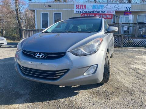 2012 Hyundai Elantra for sale at Seven and Below Auto Sales, LLC in Rockville MD