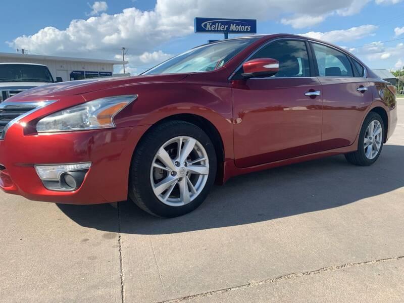 2014 Nissan Altima for sale at Keller Motors in Palco KS