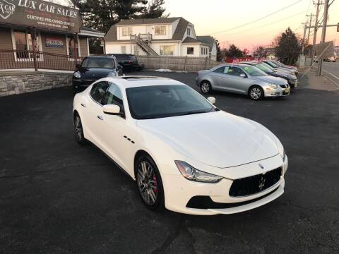 2014 Maserati Ghibli for sale at Lux Car Sales in South Easton MA
