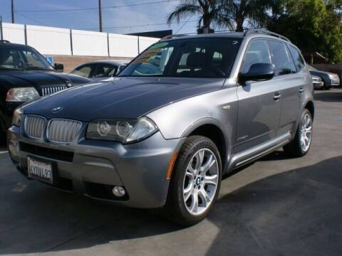 2010 BMW X3 for sale at Williams Auto Mart Inc in Pacoima CA