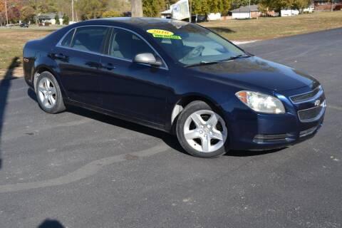 2010 Chevrolet Malibu for sale at GLADSTONE AUTO SALES    GUARANTEED CREDIT APPROVAL in Gladstone MO