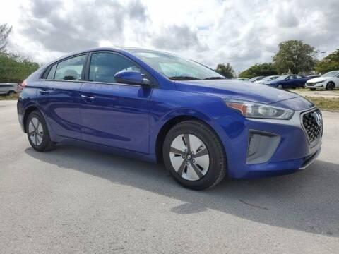 2021 Hyundai Ioniq Hybrid for sale at DORAL HYUNDAI in Doral FL