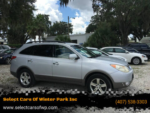 2009 Hyundai Veracruz for sale at Select Cars Of Winter Park Inc in Orlando FL