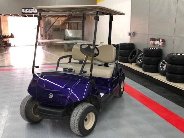 2010 Yamaha Gas Golf Car for sale at Curry's Body Shop in Osborne KS