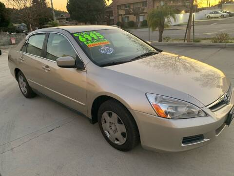 2006 Honda Accord for sale at Select Auto Wholesales in Glendora CA
