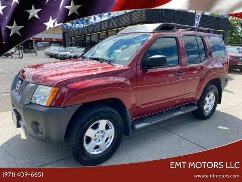 2007 Nissan Xterra for sale at EMT MOTORS LLC in Portland OR