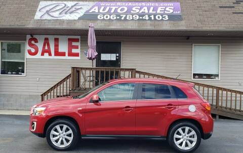 2015 Mitsubishi Outlander Sport for sale at Ritz Auto Sales, LLC in Paintsville KY