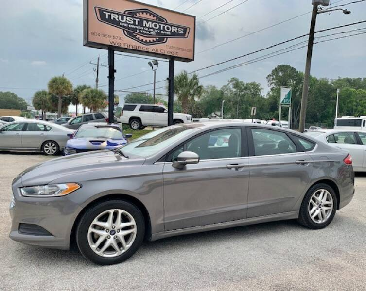 2014 Ford Fusion for sale at Trust Motors in Jacksonville FL