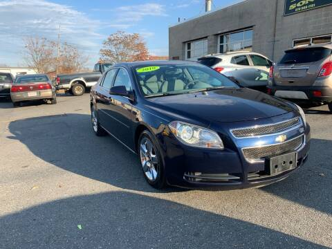 2010 Chevrolet Malibu for sale at Cote & Sons Automotive Ctr in Lawrence MA