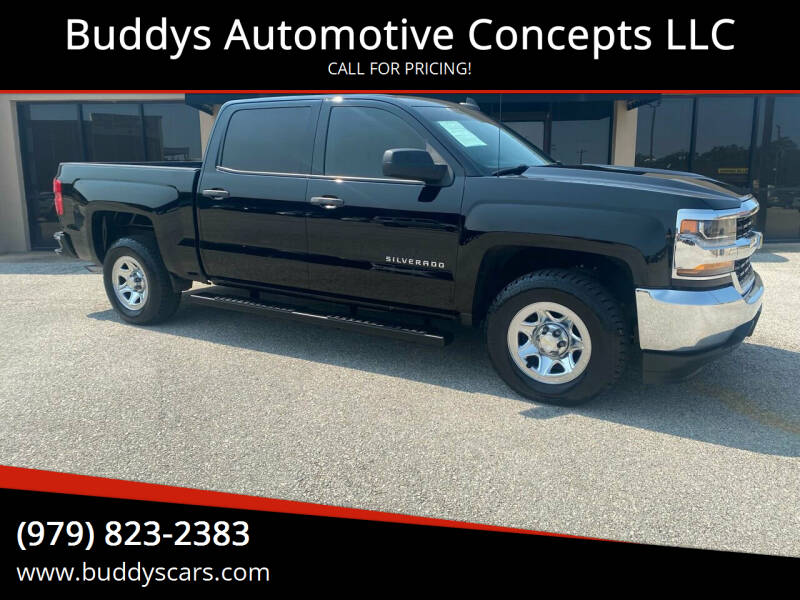2016 Chevrolet Silverado 1500 for sale at Buddys Automotive Concepts LLC in Bryan TX