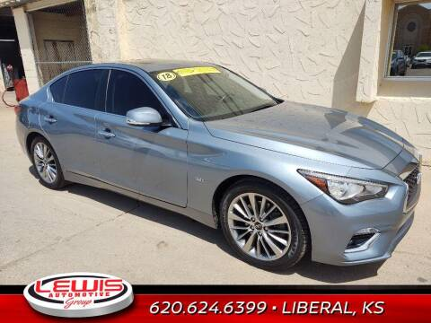 2018 Infiniti Q50 for sale at Lewis Chevrolet Buick of Liberal in Liberal KS