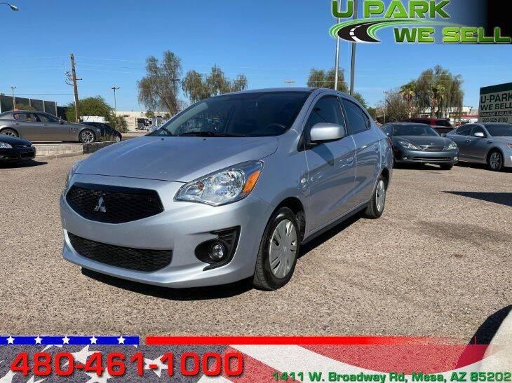 2020 Mitsubishi Mirage G4 for sale at UPARK WE SELL AZ in Mesa AZ