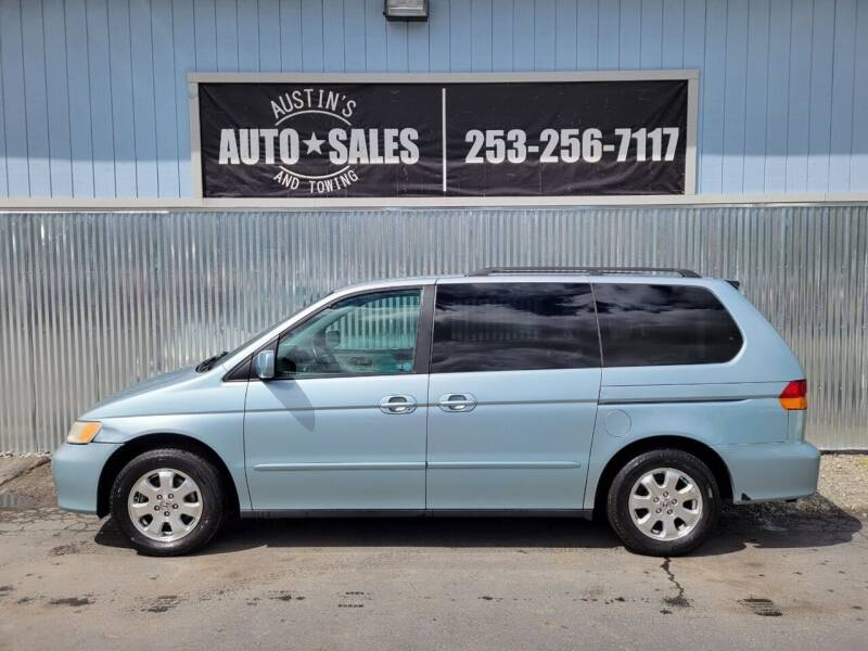 1999 Honda Odyssey for sale at Austin's Auto Sales in Edgewood WA