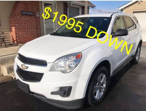2013 Chevrolet Equinox for sale at Cooks Motors in Westampton NJ