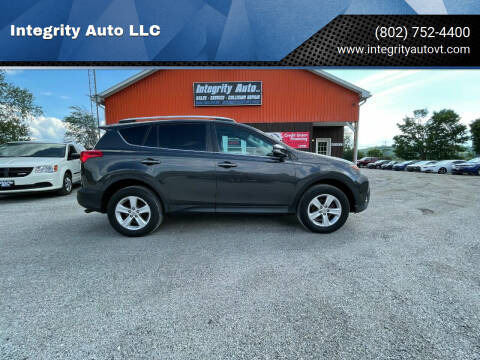 2014 Toyota RAV4 for sale at Integrity Auto LLC in Sheldon VT