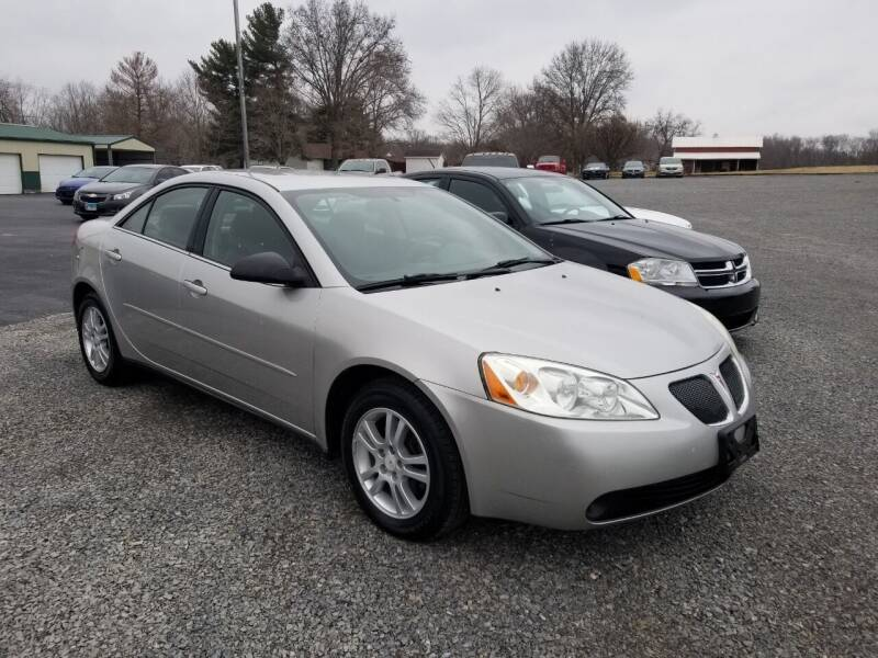 2005 Pontiac G6 for sale at Ridgeway's Auto Sales - Buy Here Pay Here in West Frankfort IL