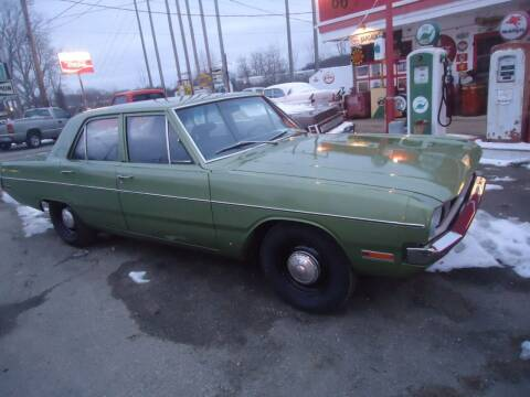1971 Dodge Dart for sale at Marshall Motors Classics in Jackson Michigan MI
