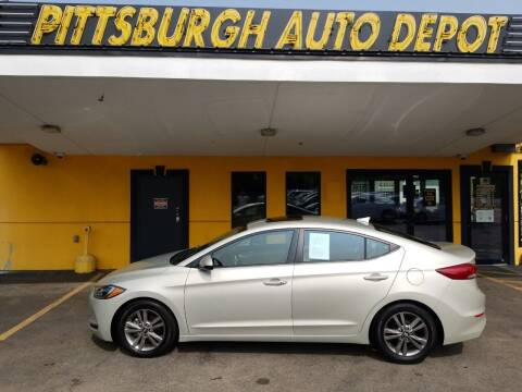 2017 Hyundai Elantra for sale at Pittsburgh Auto Depot in Pittsburgh PA