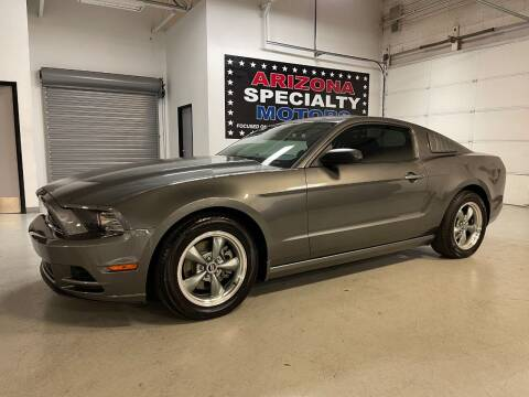 2014 Ford Mustang for sale at Arizona Specialty Motors in Tempe AZ