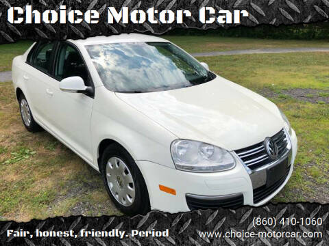 2007 Volkswagen Jetta for sale at Choice Motor Car in Plainville CT