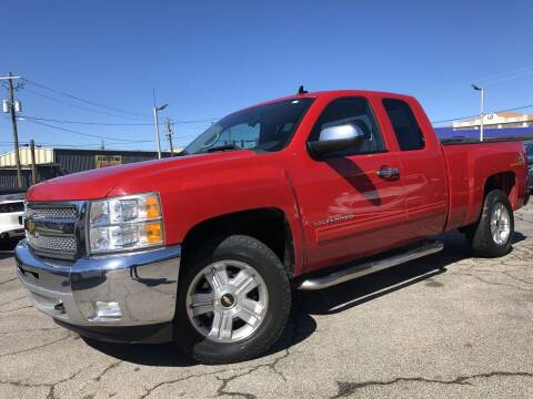 2012 Chevrolet Silverado 1500 for sale at Global Imports Auto Sales in Buford GA