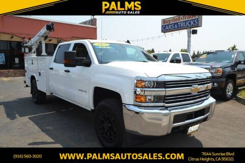 2018 Chevrolet Silverado 2500HD for sale at Palms Auto Sales in Citrus Heights CA