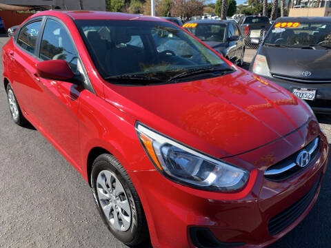 2016 Hyundai Accent for sale at CARZ in San Diego CA
