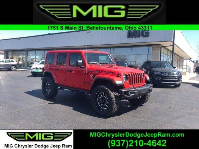 2019 Jeep Wrangler Unlimited for sale at MIG Chrysler Dodge Jeep Ram in Bellefontaine OH