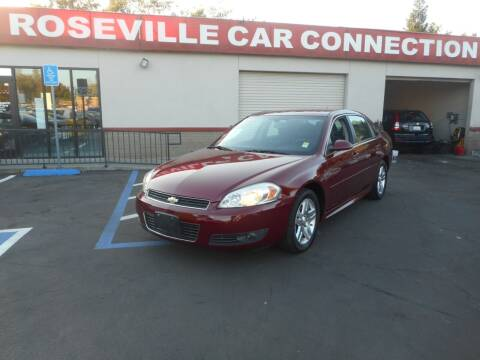 2011 Chevrolet Impala for sale at ROSEVILLE CAR CONNECTION in Roseville CA