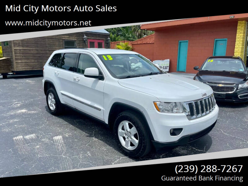 2013 Jeep Grand Cherokee for sale at Mid City Motors Auto Sales in Fort Myers FL