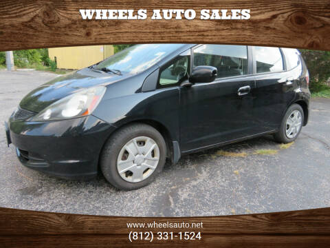 2012 Honda Fit for sale at Wheels Auto Sales in Bloomington IN