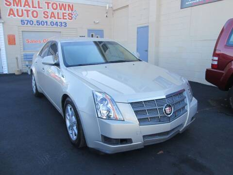2008 Cadillac CTS for sale at Small Town Auto Sales in Hazleton PA