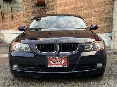 2007 BMW 3 Series for sale at Alpha Motors in Chicago IL