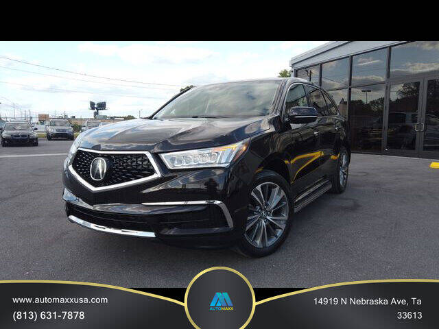 2017 Acura MDX for sale at Automaxx in Tampa FL
