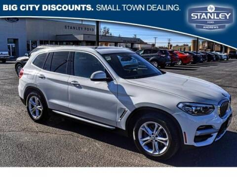 2020 BMW X3 for sale at STANLEY FORD ANDREWS in Andrews TX