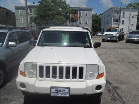 2006 Jeep Commander for sale at MERROW WHOLESALE AUTO in Manchester NH