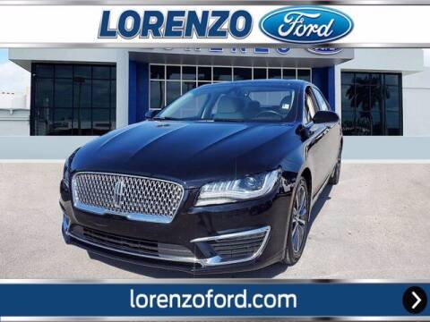 2019 Lincoln MKZ for sale at Lorenzo Ford in Homestead FL