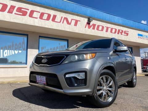 2012 Kia Sorento for sale at Discount Motors in Pueblo CO